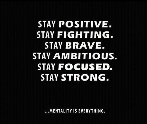 Image result for stay strong stay positive stay brave beat cancer