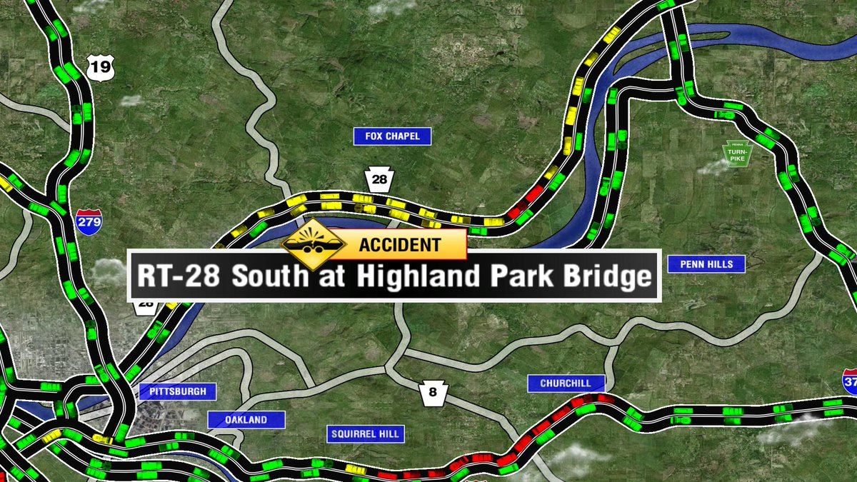 Breaking Accident On Rt 28 South At Highland Park Bridge
