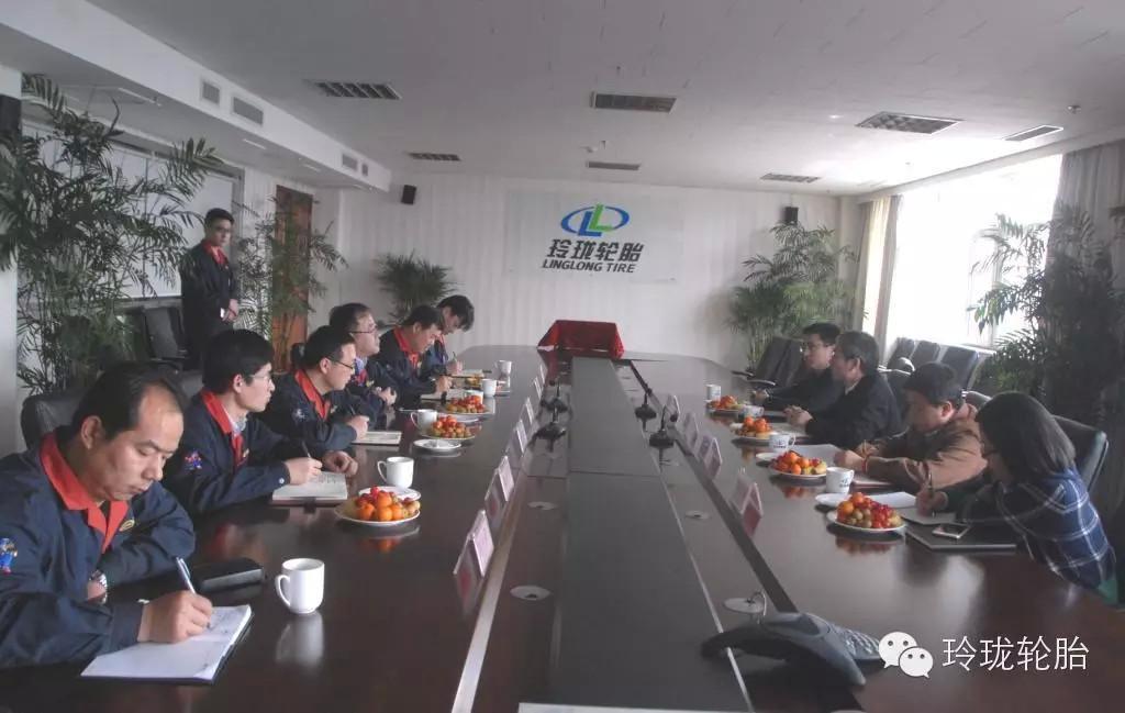 Senior Leaders of Iveco Hongyan SAIC Visited Linglong @linglong_llit http://t.co/onR1mUK5yx