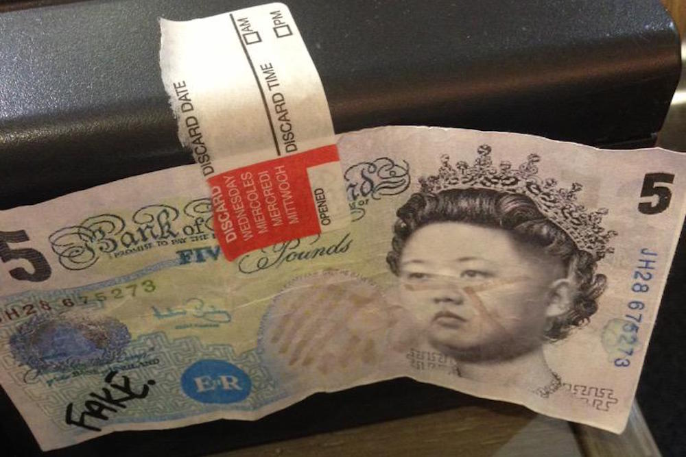 Usvsth3m On Twitter How To Spot A Fake 5 Pound Note 1