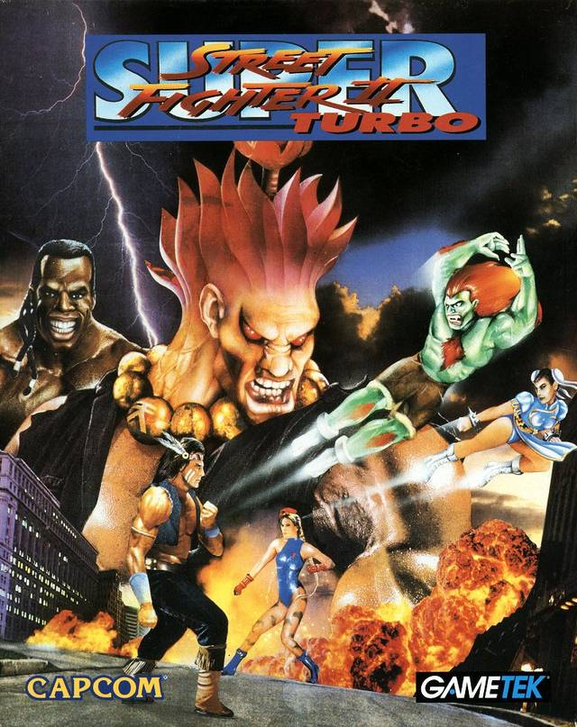 super street fighter 2 turbo box art