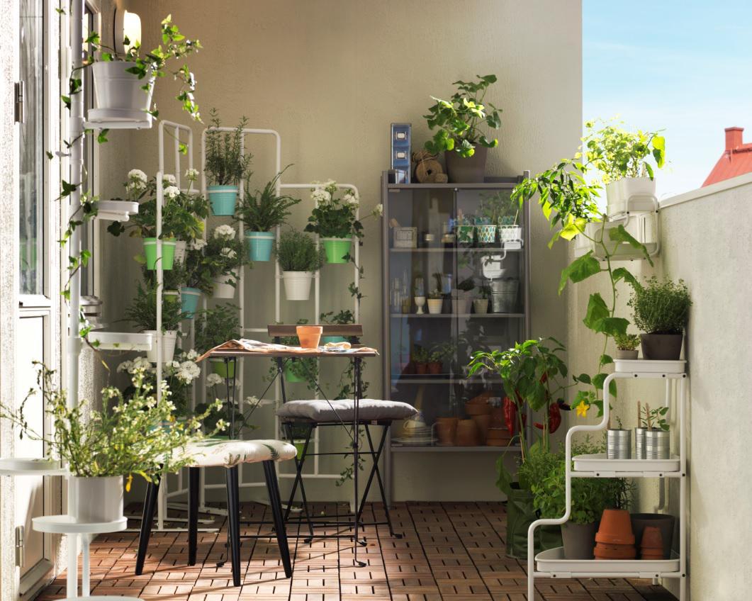 """IKEA Italia on Twitter: """"Lasciatevi ispirare da tante idee per arredare balcone e giardino e ..."""