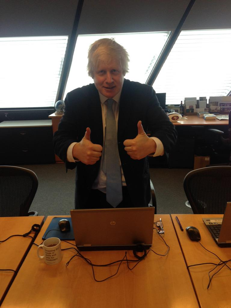 Hi folks, let's get cracking. Please send in your questions using #askboris http://t.co/n1ZwLZGcoa