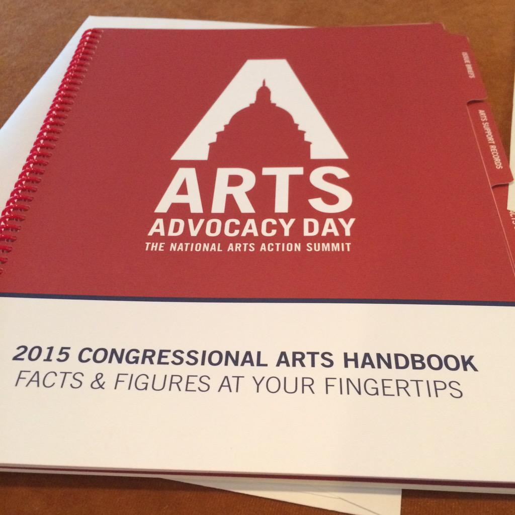 Learn more about federal arts issues on @Americans4Arts website. Great data http://t.co/qot2GPcqzS