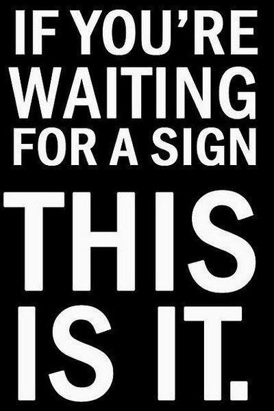 THIS IS YOUR SIGN #GoForIt #SmallBusiness #StartTODAY https://t.co/GJOQ9lgKdj