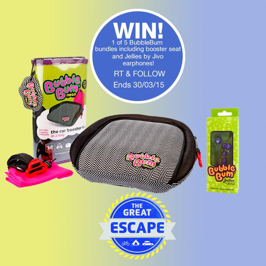 Follow & RT to win a @bubblebumukltd bundle for your Easter #GreatEscape. Check them out > http://t.co/UC0M1MMv8l http://t.co/eQKuTLKRhM