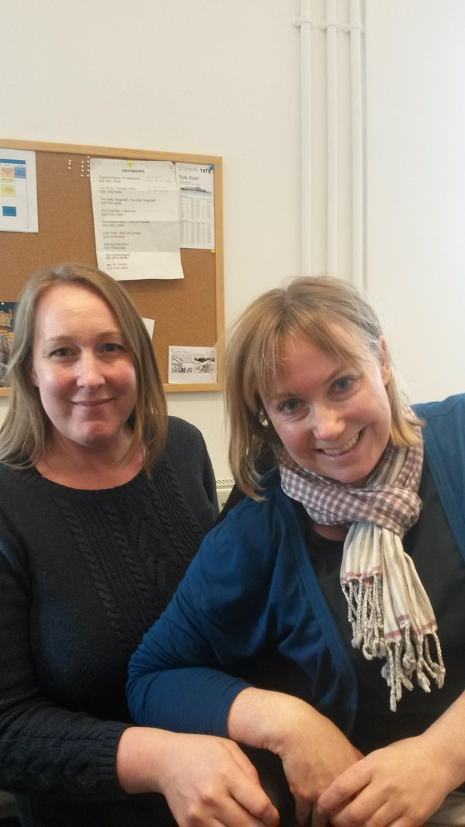 Hello, we're Kate and Trish from the collection care division, ready to answer your #TateConservation Qs! #secretsMW http://t.co/8MEnL37p5B