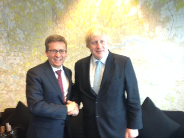 Great to meet EU Commissioner @Moedas today and discuss Ldn's position as a global capital of science and research http://t.co/hHdaGoYQRl