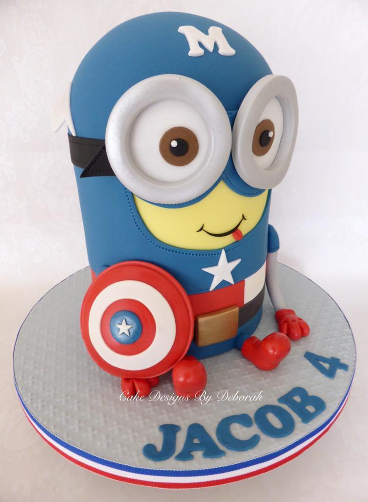 Super Minion Cake images