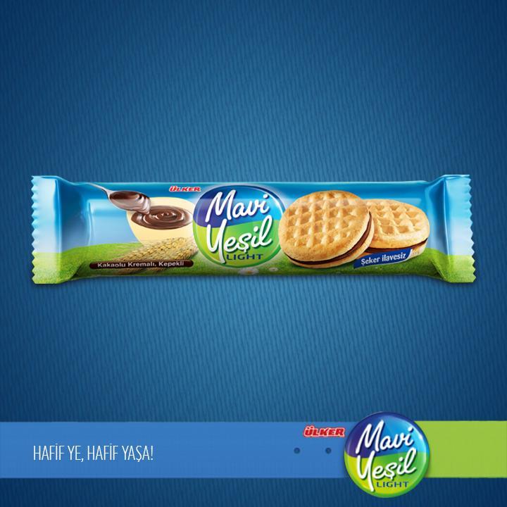 Ülker Mavi Yeşil Kakao Kremalı Şeker İlavesiz Bisküvi'yle tatlı yiyelim, tatlı konuşalım :) http://t.co/mLZmrTjAfq