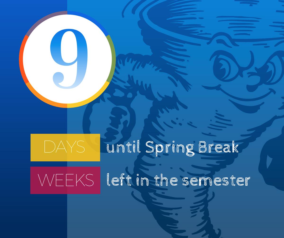 "paducah schools on twitter: ""nine more days until spring break, and"