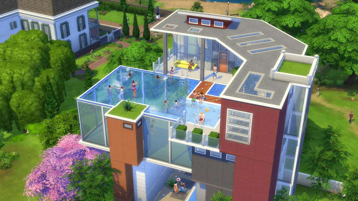 The Sims On Twitter Ready To Build Pools In Basements Later This Week Here Are Some Tips Http T Co Tayy0wob6s Juqtlf6aor