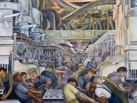 .@DIADetroit stages a stunning comeback show of works by Diego Rivera and Frida Kahlo http://t.co/ja1P0MNjN5 http://t.co/XuyTaLZNAJ