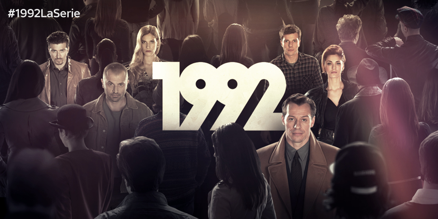 1992: da oggi la serie tv in esclusiva tv e streaming su Sky Atlantic