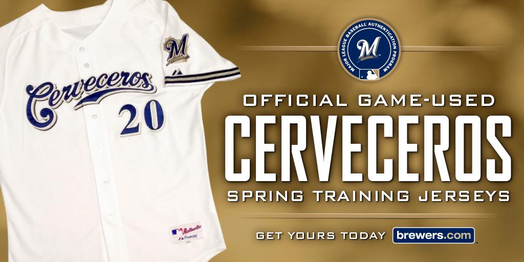 official photos 9f1ef 5f945 Milwaukee Brewers on Twitter: