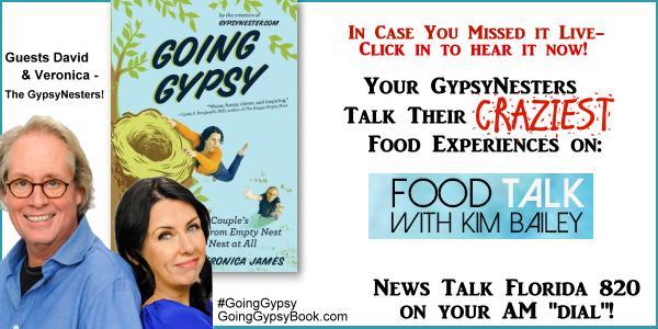 Food Talk: Ignacio Lopez, David and Veronica James, The GypsyNesters