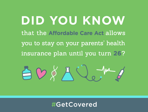 A1: Since the #ACA passed many young adults under 26 have been able to stay on their parents ins plan. #MillennialMon http://t.co/bEoR5fkvHP