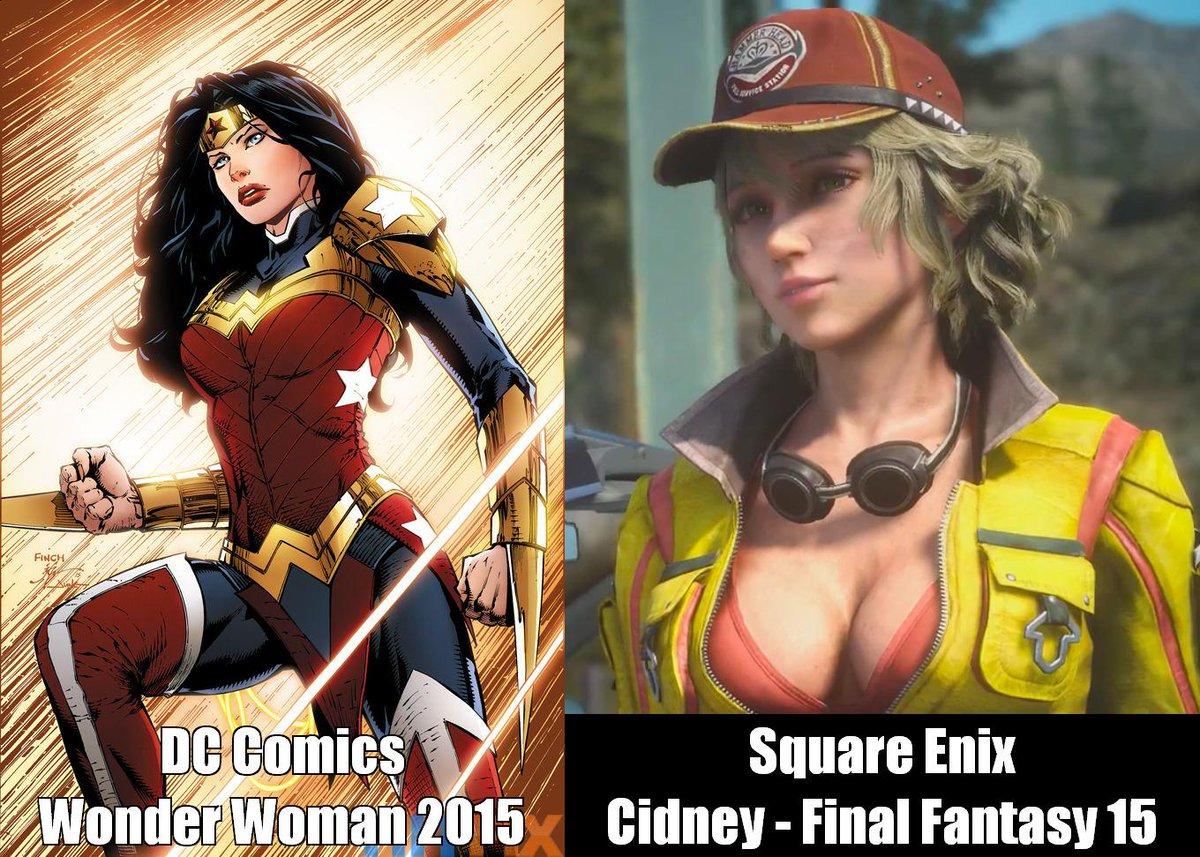 DC Comics 2015 vs Square Enix Final Fantasy 15