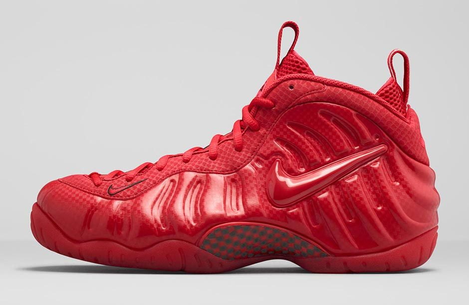 check out 17625 4aed6 ... canada foot locker eu on twitter the gym red nike air foamposite pro is  dropping this