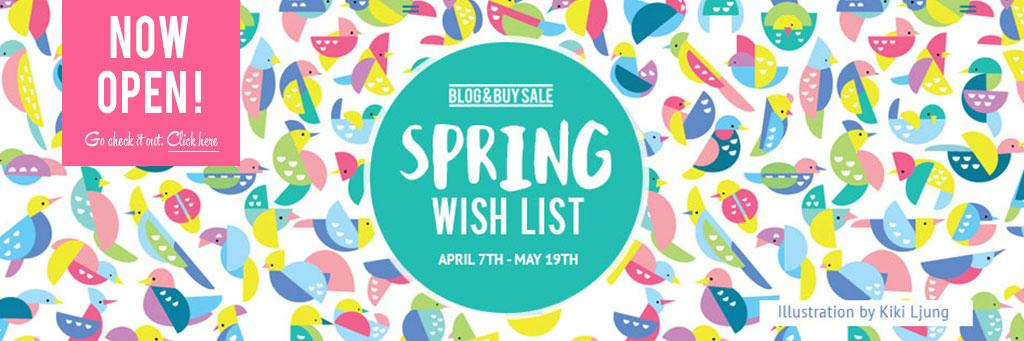 Our Spring Wish List is now LIVE! Check it out, packed full of talented designers/makers | http://t.co/8jJR3Q4GOr http://t.co/chT2a0H3lt