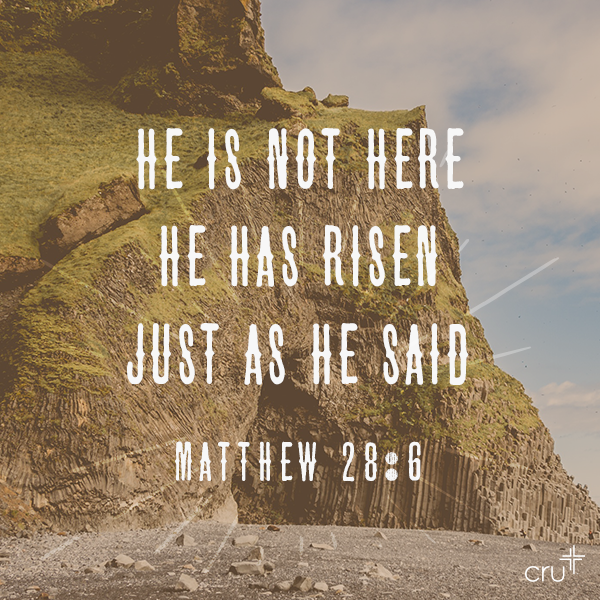Image result for he is not here for he is risen