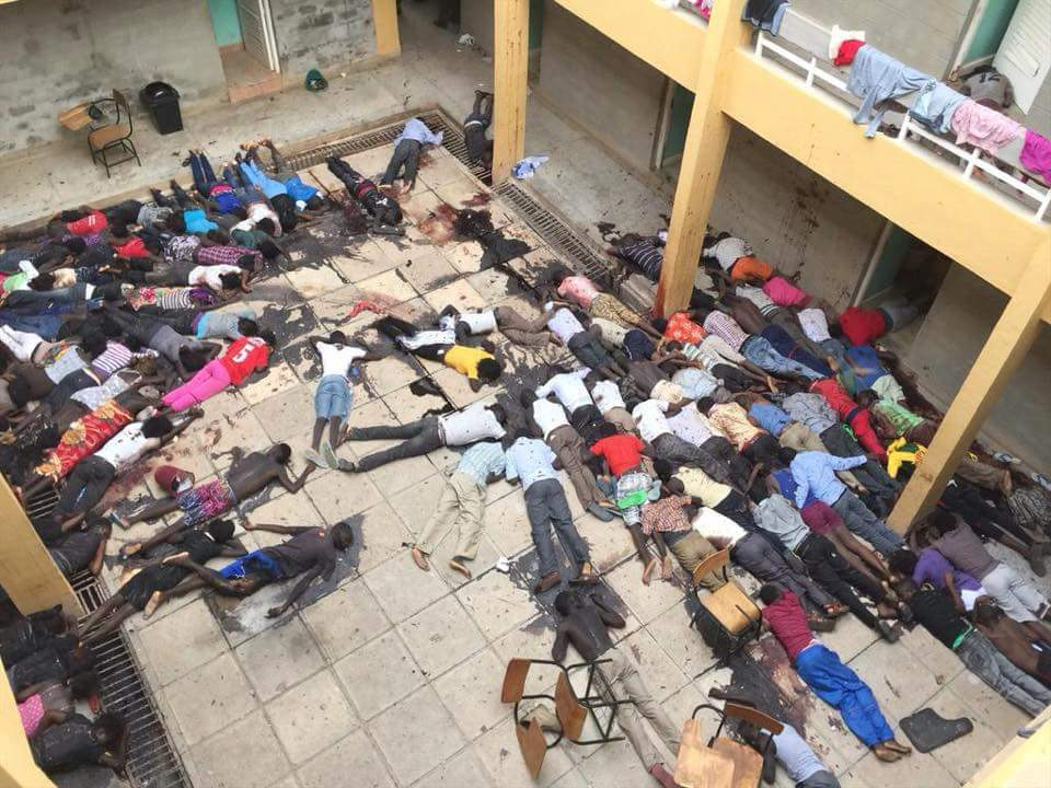 147 dead in a massacre in Kenya. Why aren't we talking about this? 12 journalist in France and the WORLD STOPS #Mad http://t.co/7Nio3gSjmr