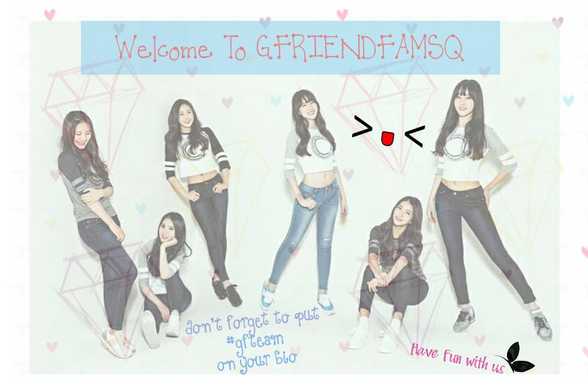 "Welcome!^o^""GFRIENDFAMSQ: V @TAAEYONG95 WELCOME TO GFRIENDFAMSQ! DONT FORGET TO PUT #GFTEAM ON UR BIO. HAVE FUN :D http://t.co/52bvDYQ6Zn"""