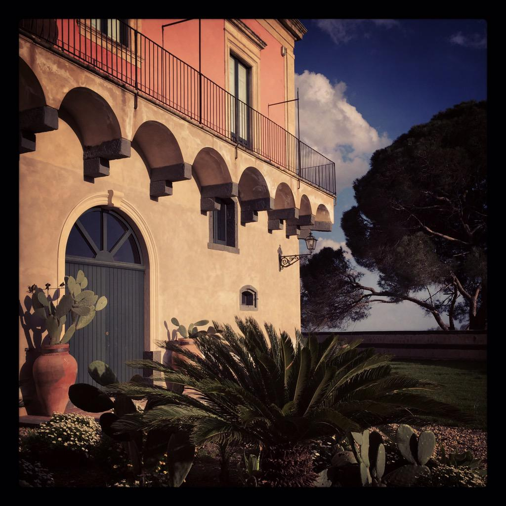 This sicilian 'casa padronale' converted into a full service 12 room villa could be your holiday retreat @ThinkVillas