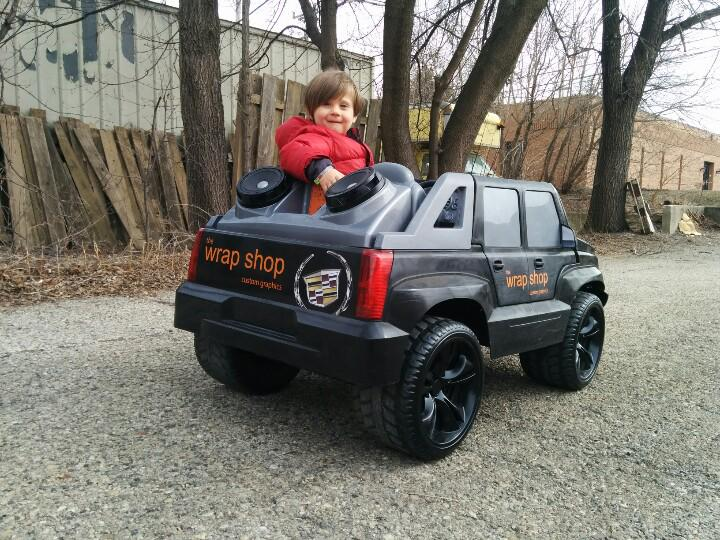 The Best Custom Power Wheels Escalade