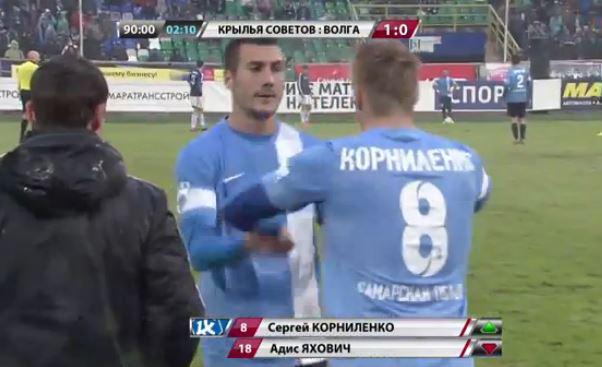 Kornilenko comes on late for Jahovic