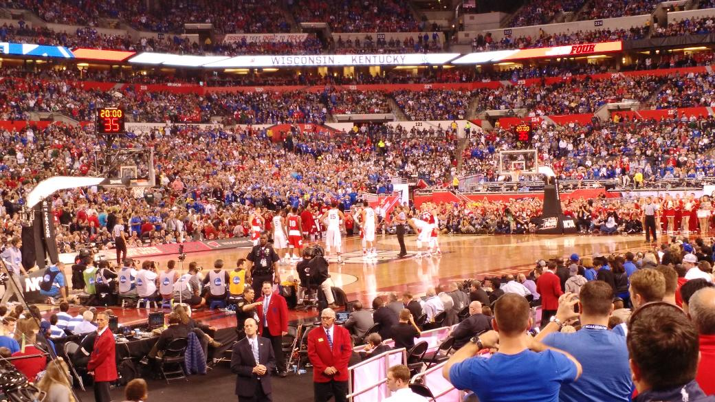 Need to sell my ticket for Monday. Sec 144 Row N - $650. Here's the view http://t.co/dDUsSiJRDF