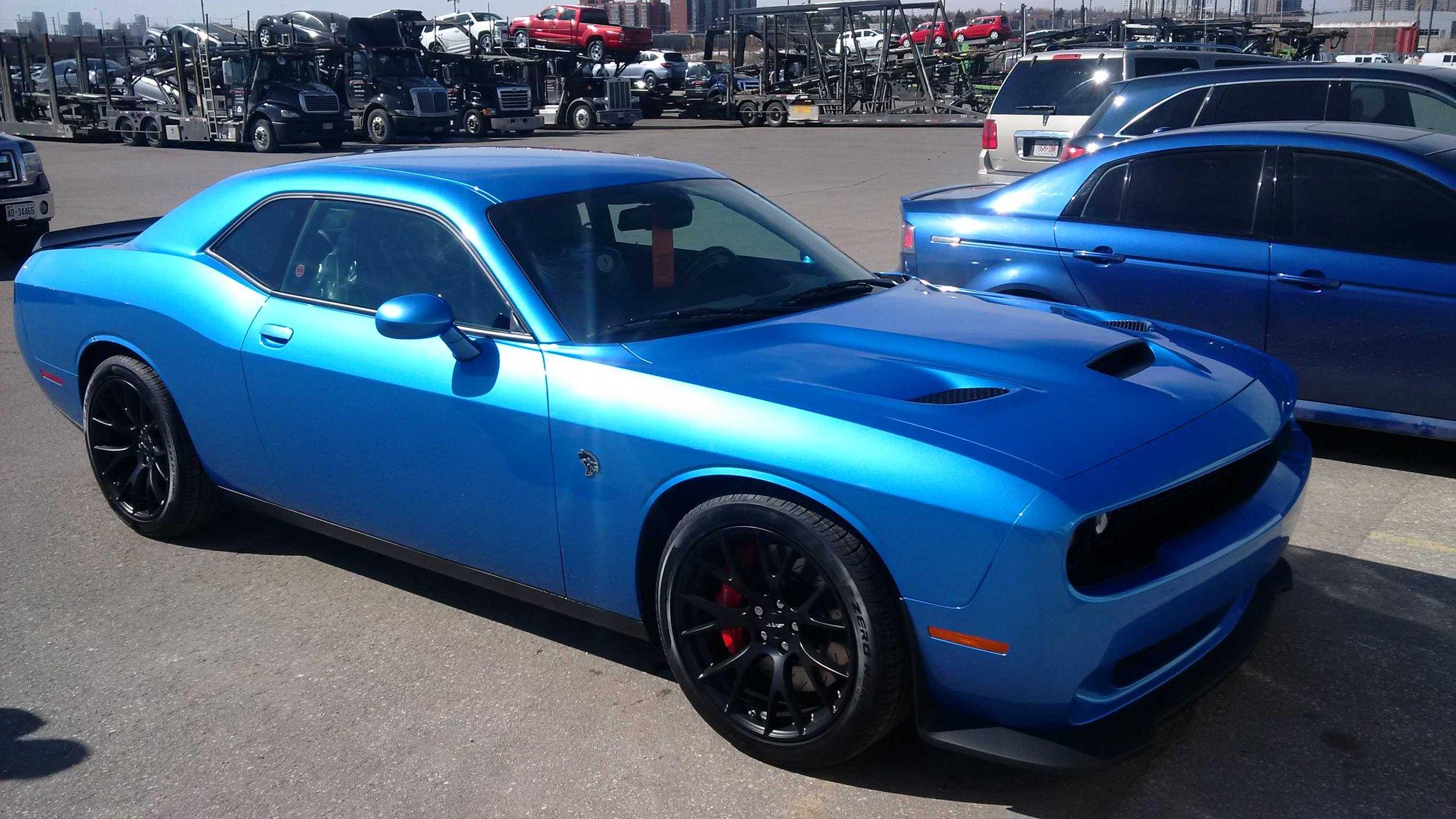 Hellcat In B5 Blue | Autos Post