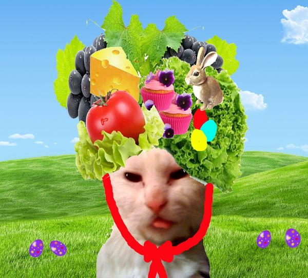 Lydia: I'm in the pawrade, in the parade, tea-la! *sings & struts* #Easterpawrade http://t.co/J1ohqNzQVn
