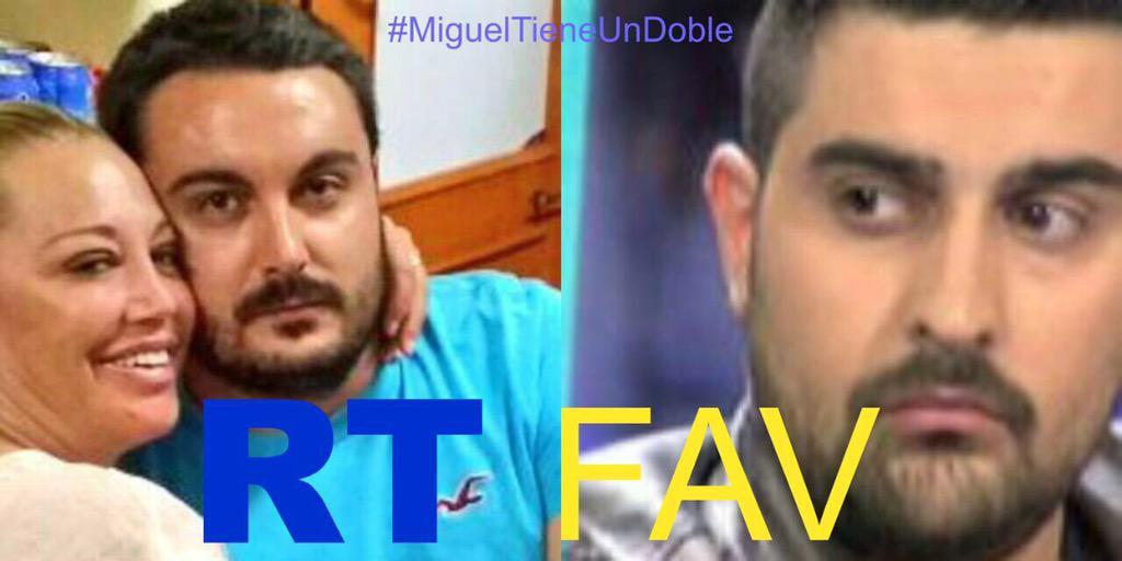 RT si crees q mi Miguel se parece a Borja de CHIKI  Fav si crees q no #MiMiguelTieneUndoble @SobeCarolina