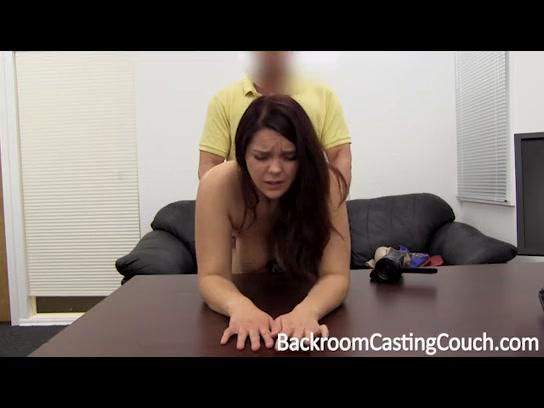 Chubby casting anal