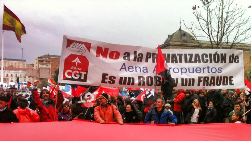 Rajoy malvendió Aena por 58 €, hoy pagan por Aena 100€ por cada acción. : Aena tiene unos ingresos brutos de 3.165 millones €.