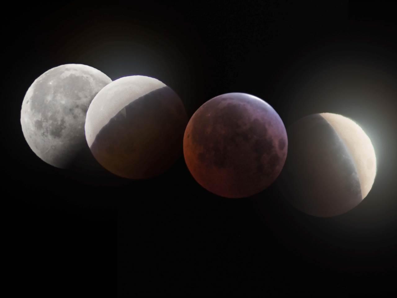 皆既月食2015 観望記