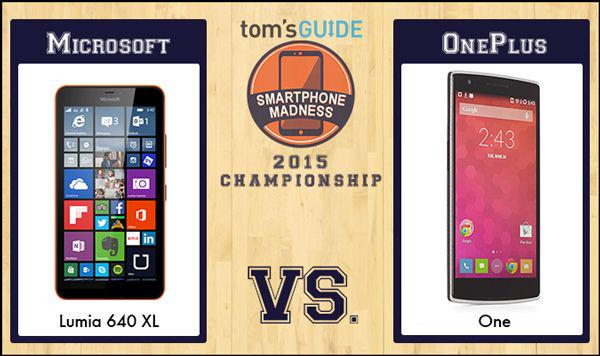 Keep voting! @Microsoft Lumia 640 XL vs. @OnePlus One http://t.co/PuxNSCe6qq http://t.co/R8qJwPqXSy
