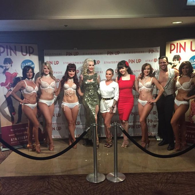 I went to see my beautiful friend @Sabina_Kelley dance at Pinup again last night! http://t.co/zvZ94m