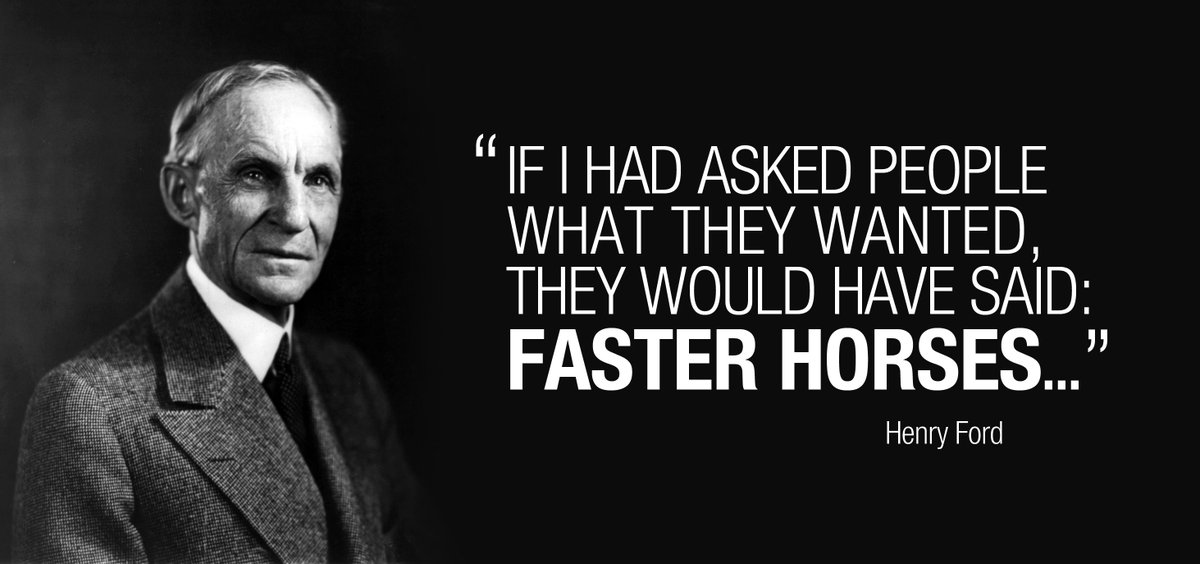 "Ford Quote Brilliant Viget On Twitter ""great Piece On Henry Ford's ""faster Horse"