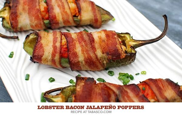 Snack on these winners while you watch the championship!  Lobster Bacon Jalapeño Poppers: http://t.co/cb2v1fPtfj http://t.co/YUOOjE8eRF