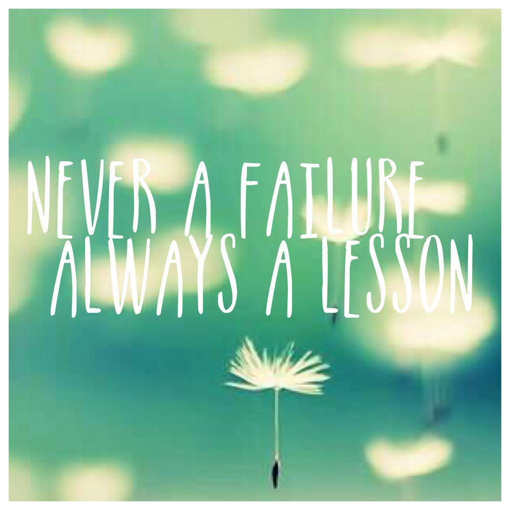 Failure is a great teacher. If you allow it. #TeamBossyGals http://t.co/ejhreLJNfR