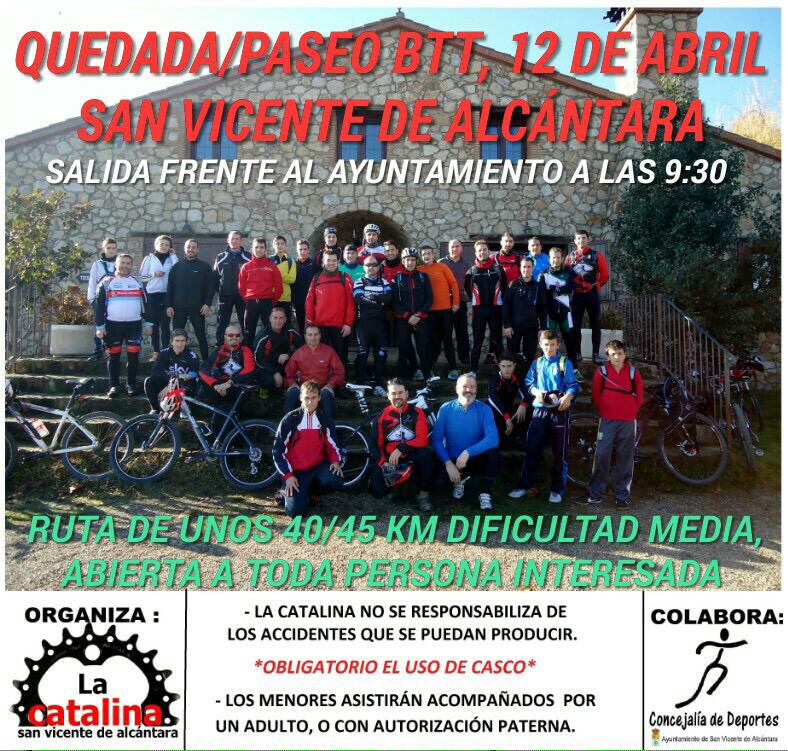 Quedada del mes de abril, Domingo 12, a las 9:30 en el Parque de España. Os esperamos a todos! RT y difunde el evento http://t.co/CTBQbmSTHo