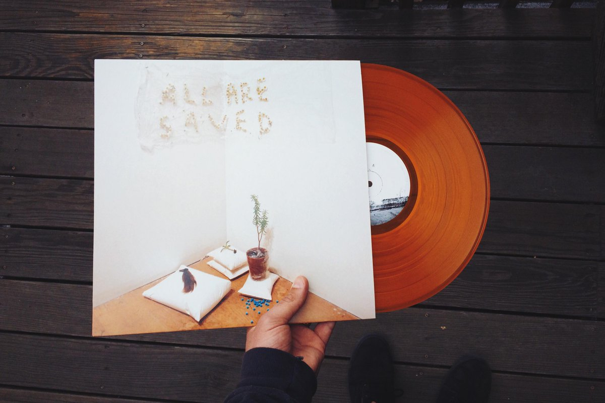 Want a copy of @fredthomasmusic's new album #AllAreSaved on clear gold vinyl? RT this & we'll pick a winner at random http://t.co/7wyhA0MjF1