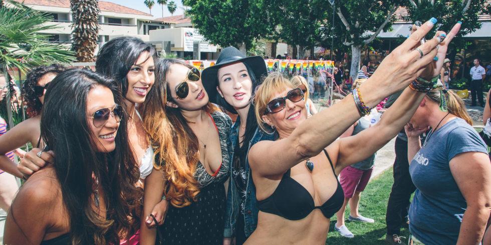 Tan Lines Nude Selfie