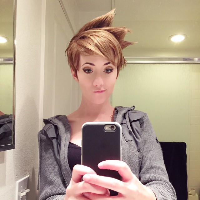 Overwatchgg On Twitter Quot A Wonderful Tracer Haircut By
