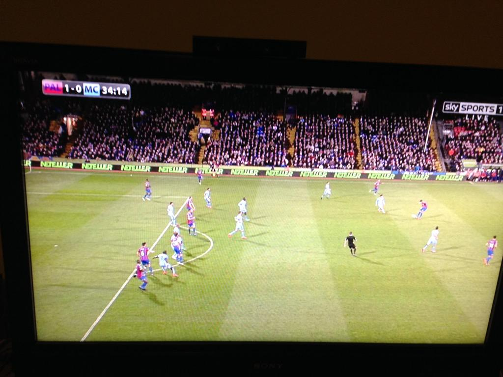 Offside? Lulz. Dann played onside by CB. Murray level when Dann shoots. Inarguable. http://t.co/Zm8YcZB8xH