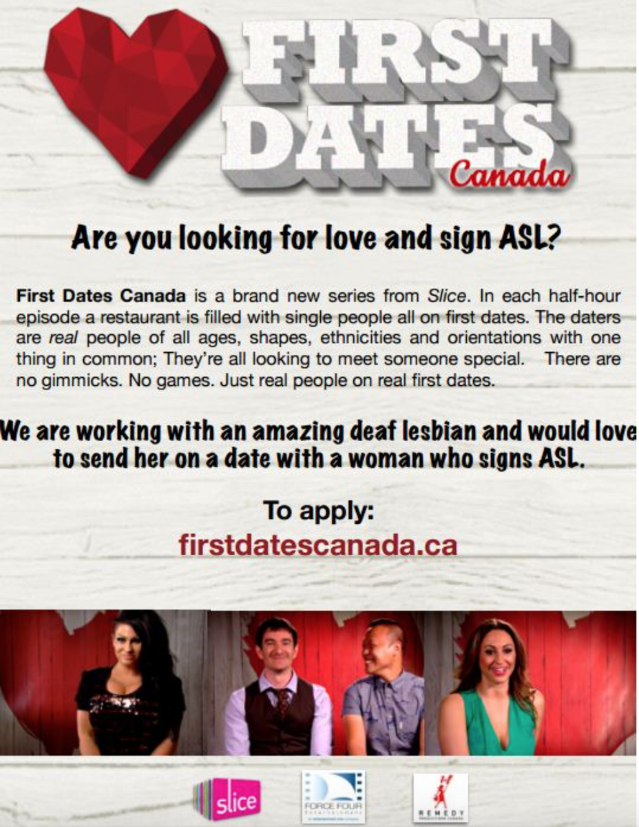 Deaf dating online canada