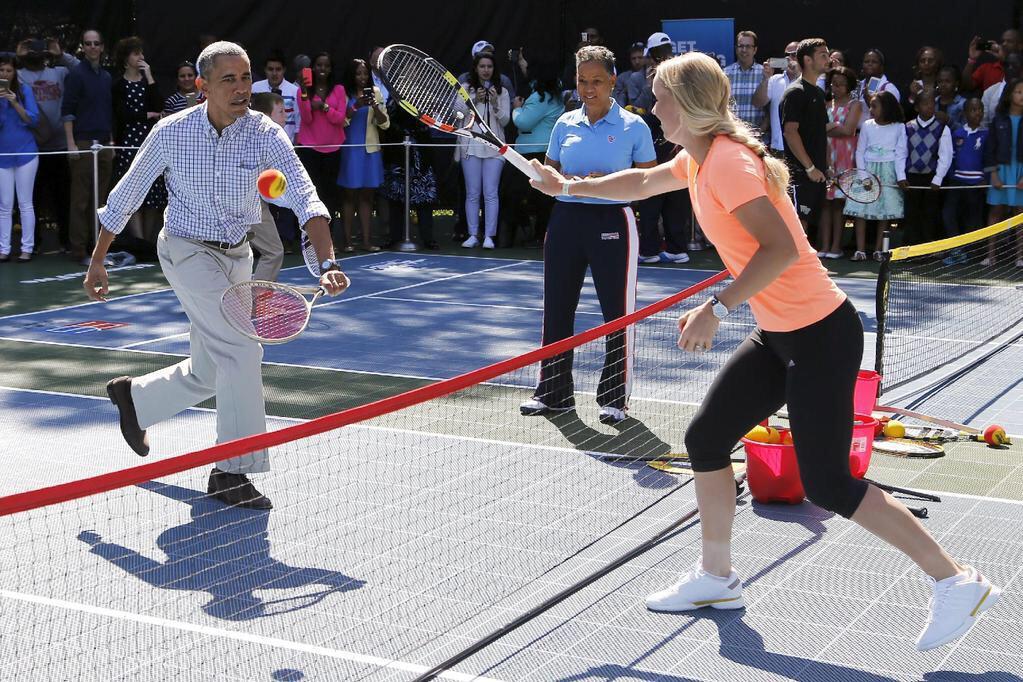 Barack Obama - tenis 10
