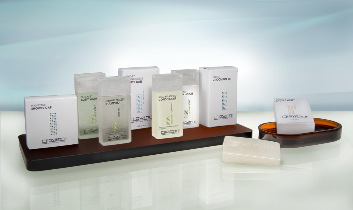 Want to try our #PrettyGreat new Giovanni bath amenities? RT for a chance to win a set to try at home! http://t.co/JbvprJlNMt